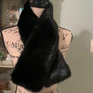 Faux fur scarf/wrap